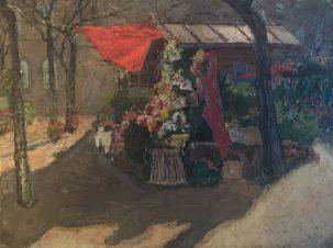 Paris Marche aux fleurs