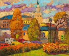 Старая Москва. Осень