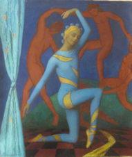Алисья Маркова «Танцовщица в голубом»