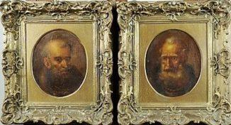 Два портрета «Апостолы Пётр и Павел»