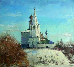 Суздаль. Космодемьянская церковь