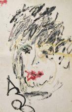 Портрет с красными губами (Портрет мальчика)