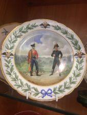 Тарелка с солдатами ИФЗ