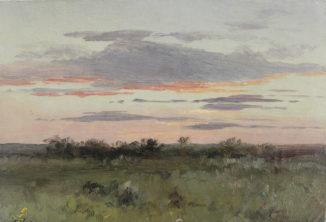 Небо при закате солнца