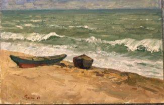 Лодки на Каспии