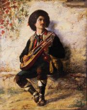Игра на мандолине