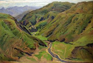Ущелье в горах Армении