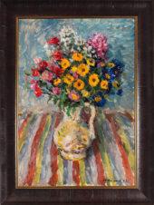 Полевые цветы в кувшине