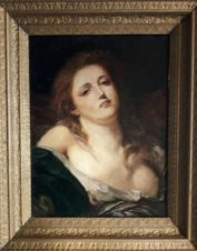 Девушка с распущенными волосами (копия картины Жан-Батист Грёз)