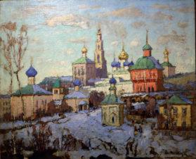 Вид на Троице-Сергиеву Лавру. 1930-начало 1940-х годов
