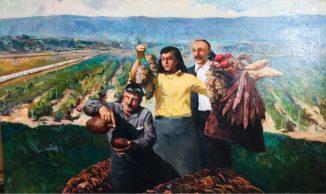 Праздник урожая, сбор винограда