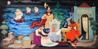 По мотивам сказки о царе Салтане