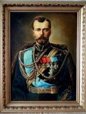 Портрет Николай II Из серии Романовы.
