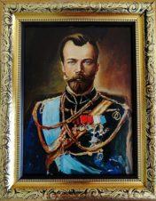 Портрет. Николай II.  Из серии «Романовы»