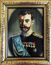 Портрет Николая II.  Из серии Романовы