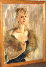 Портрет актрисы, жены художника