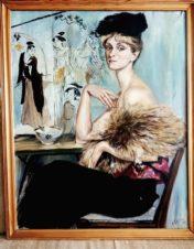 Портрет жены художника, актрисы