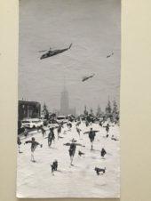 Вертолеты над городом