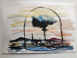 Ядерный взрыв («Монтер и гигантская лампочка»)