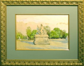Скульптура Нептуна. Версаль