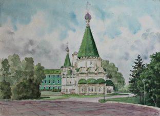 Архангельский собор. Кремль