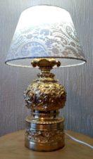 Настольная Лампа бронза с позолотой