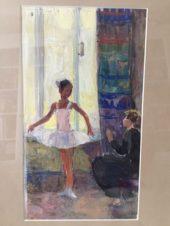 У окна. Маленькая балерина