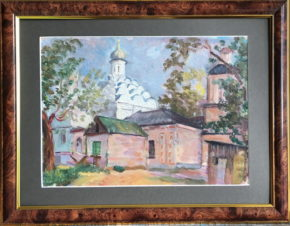 Хорошево-Мневники. Церковь Св.Троицы