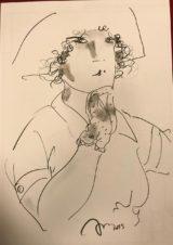 Дама (рука в перчатке)