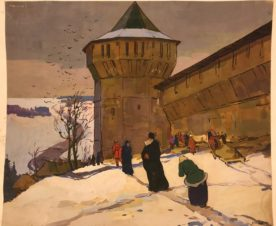 Стена древнего Загорска