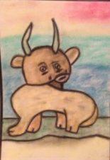 Рогатое животное