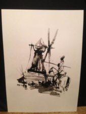 Дон Кихот и ветряная мельница