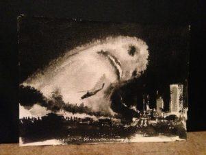 Привидение, нависшее над городом