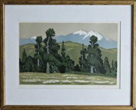 На Алтае. Лес и горы