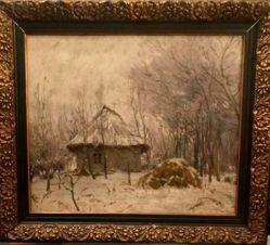 Зима в Молдавии
