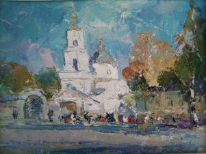 Покровская церковь г. Лиски