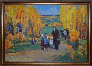 Ленин с детьми