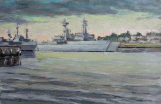 Визит кораблей НАТО в город на Неве