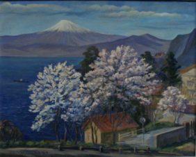 Фудзи-сан весной