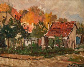 Деревня осенью