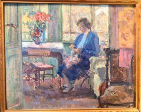 Женщина у окна