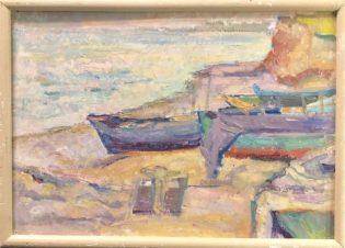 Лодки у моря