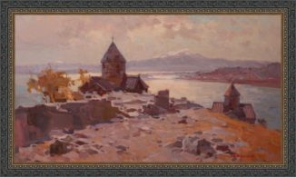 Христианские святыни Армении. Храм Ах-Тамар на озере Севан