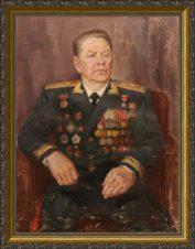 Портрет Героя Советского Союза генерал-лейтенанта Петровского Г.С.