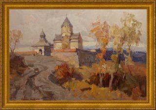 Христианские святыни Армении. Гандзасар. Осень