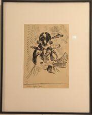 Гоголь (с выставки в Музее Зверева)