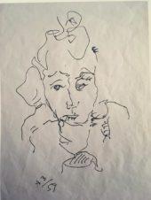 Портрет Люси, жены художника