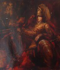 Автопортрет Захарова Ивана Ивановича в образе рыцаря
