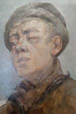 Портрет молодого человека с подбитым глазом