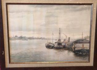 Пристань на реке